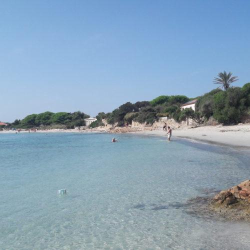 Beach stop in La Maddalena