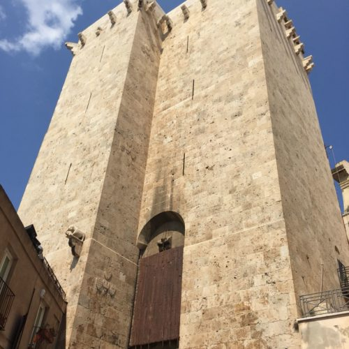 Elephant_s tower in Cagliari