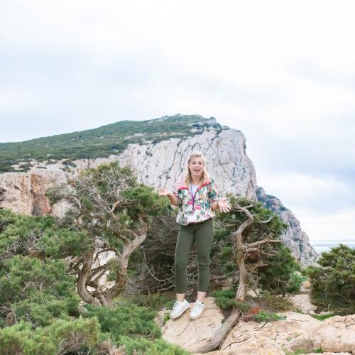francesca professional local guide sardinia