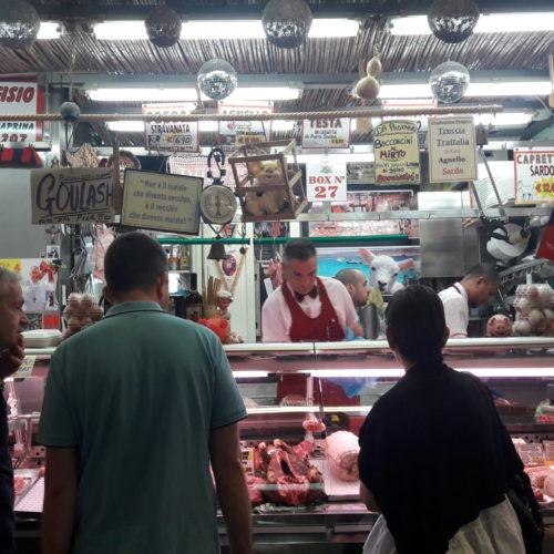 Food market San Benedetto, Cagliari