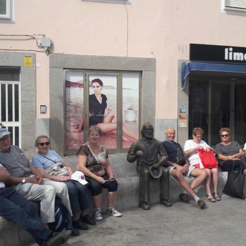 Having some rest with Garibaldi in La Maddalena