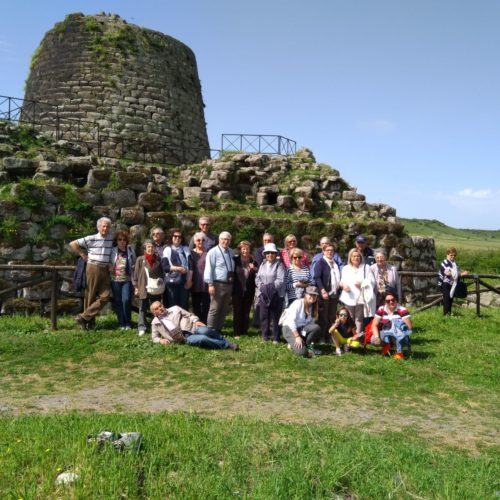 Santu Antine Nuraghe with the group
