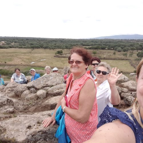 Up on a Nuraghe